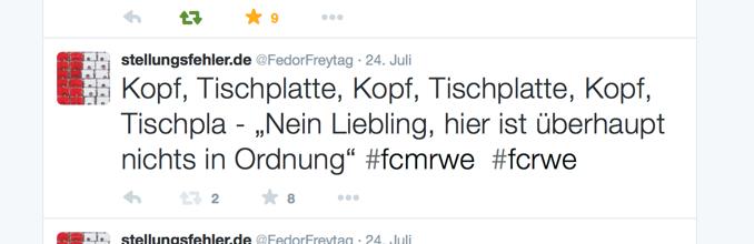Tweet fcm